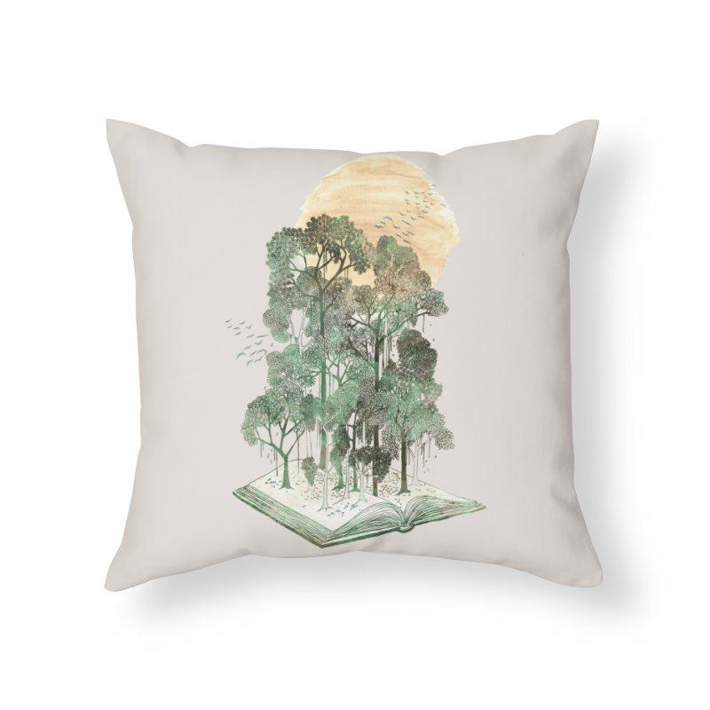My Jungle Book Home Throw Pillow by Threadless Artist Shop