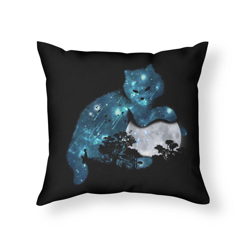 I Can Haz Home Throw Pillow by Threadless Artist Shop
