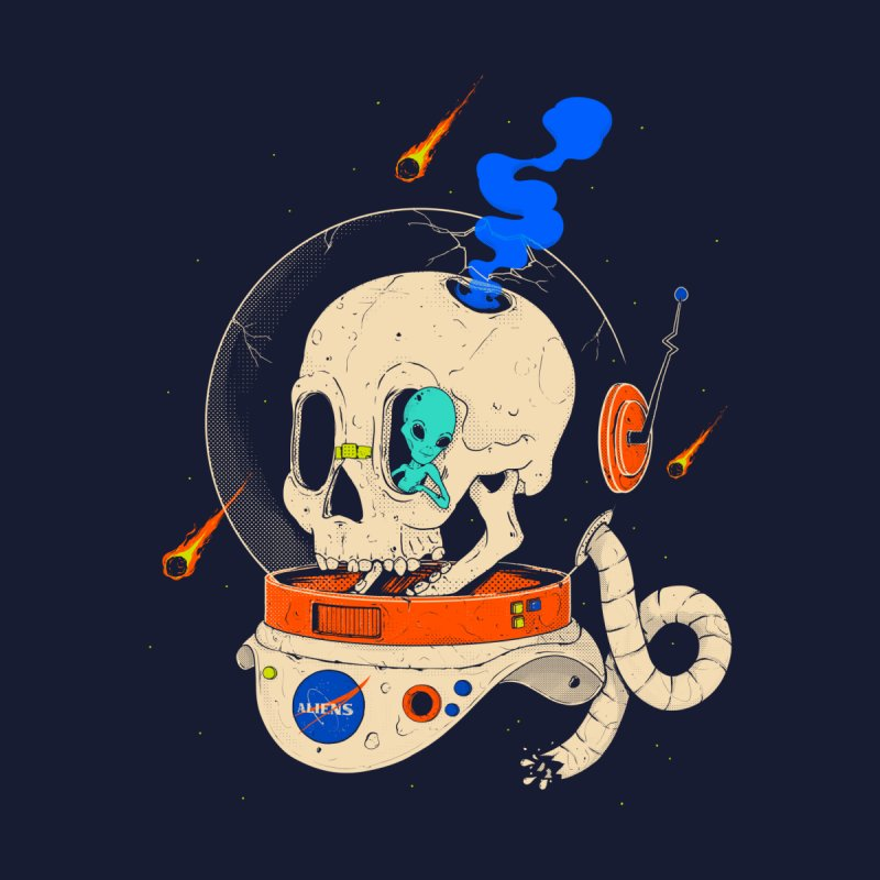 voyager Kids T-Shirt by Threadless Artist Shop