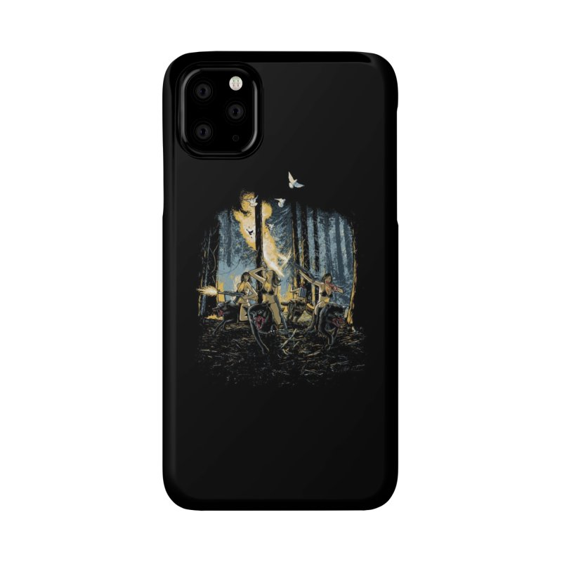 HOT CHICKS ON WOLVES Accessories Phone Case by Threadless Artist Shop