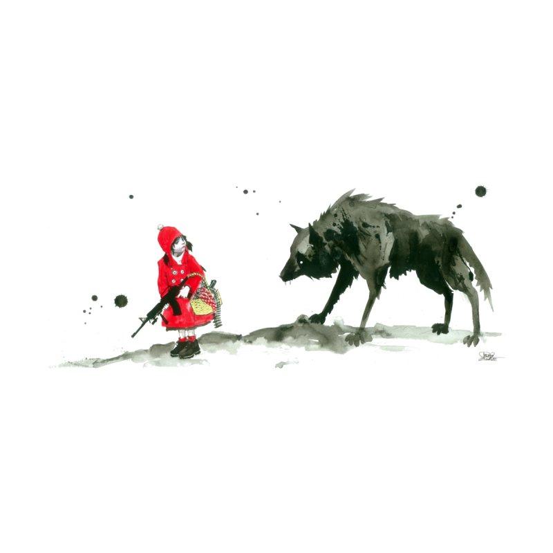 Red Riding Hood Men's T-Shirt by Threadless Artist Shop