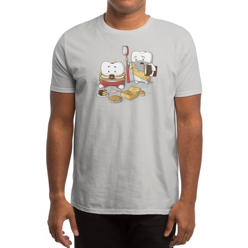 My Sweet Tooth Never Listens to My Wisdom Tooth Men's T-Shirt by Threadless Artist Shop
