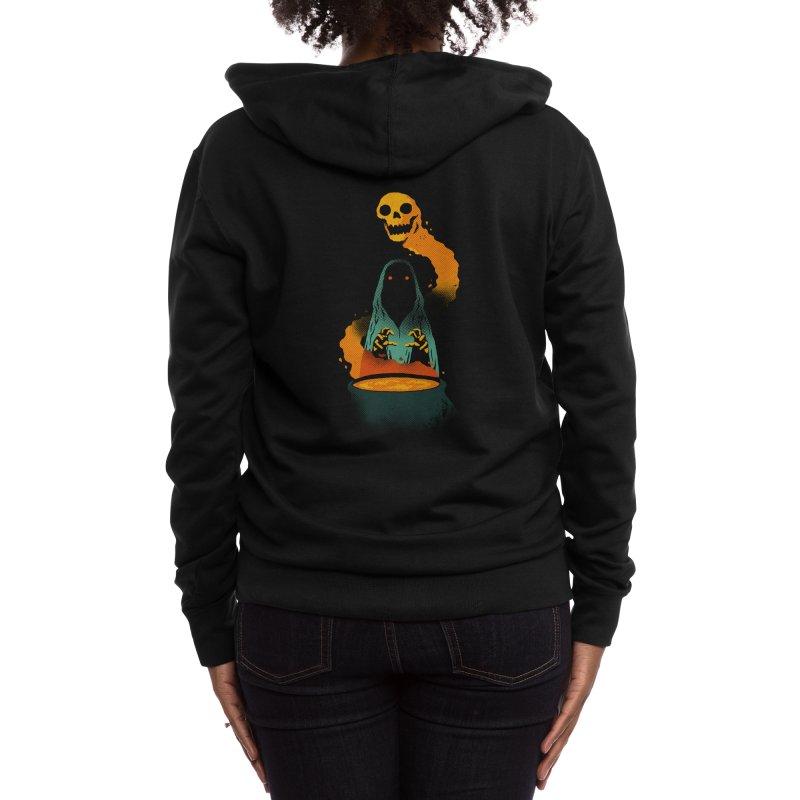 Conjure Women's Zip-Up Hoody by Threadless Artist Shop