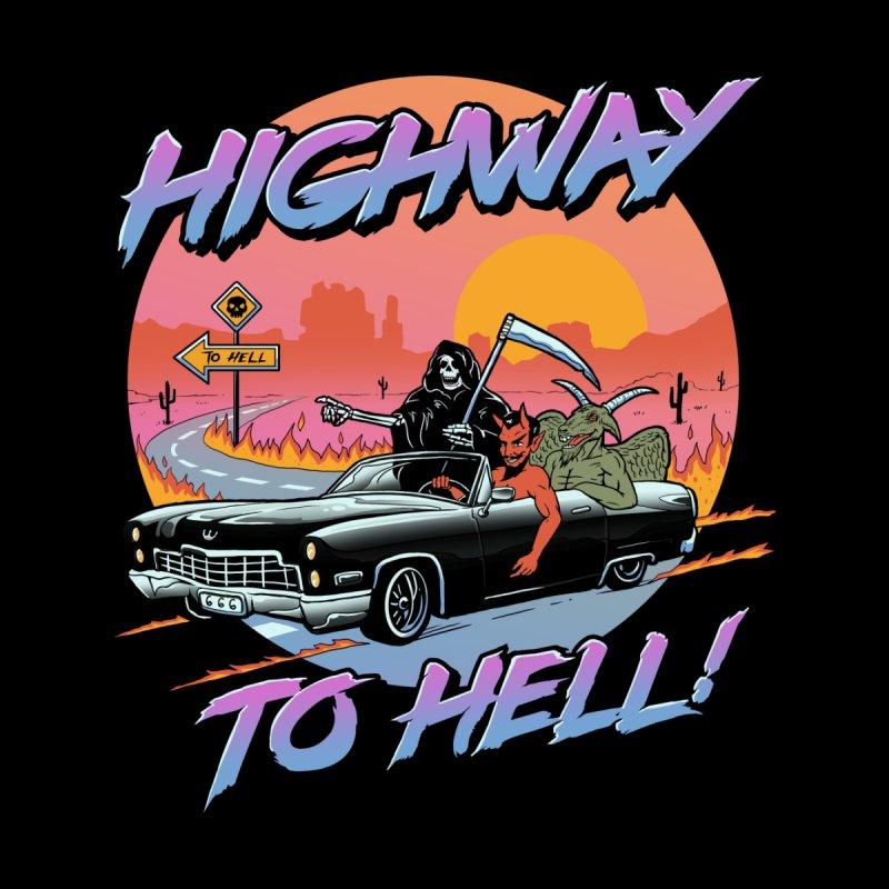 Highway to Hell Men's T-Shirt by Threadless Artist Shop