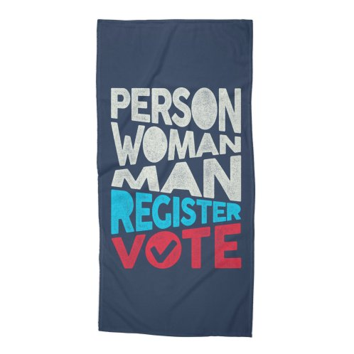 image for Person. Woman. Man. Register. Vote.