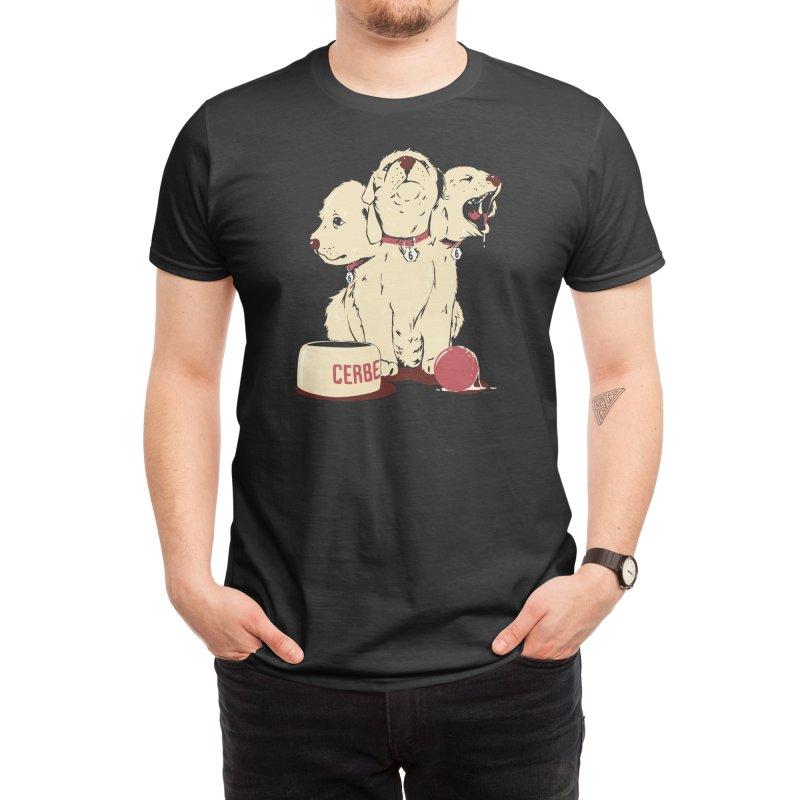 Satan's Little Helper (Black Variant) Men's T-Shirt by Threadless Artist Shop
