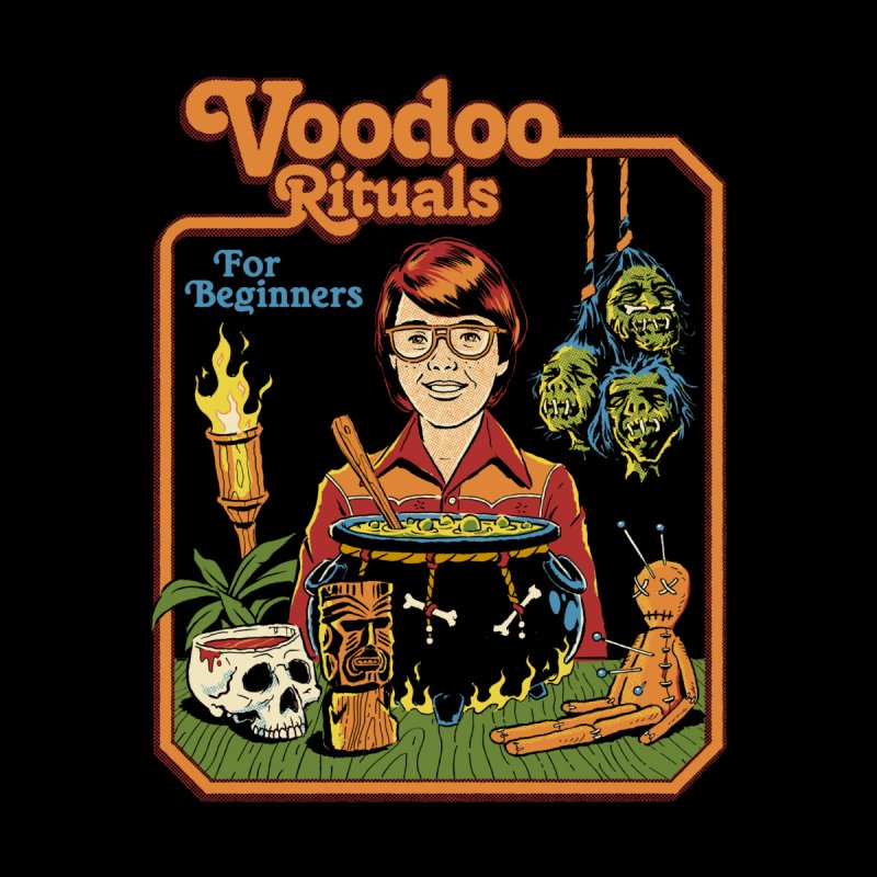 Voodoo Rituals for Beginners (Black Variant) Men's T-Shirt by Threadless Artist Shop