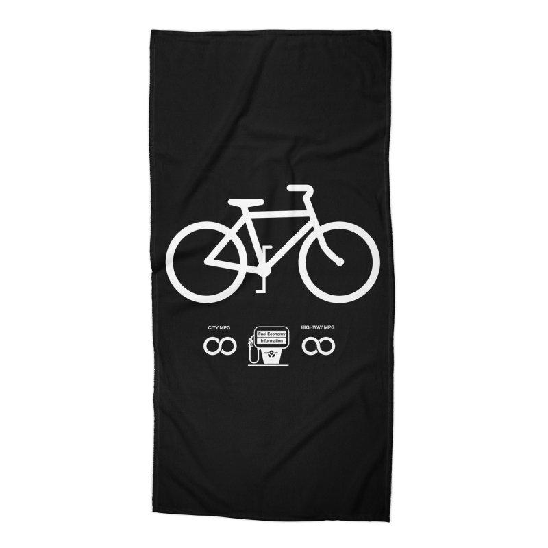 Infinity MPG (Black Variant) Accessories Beach Towel by Threadless Artist Shop