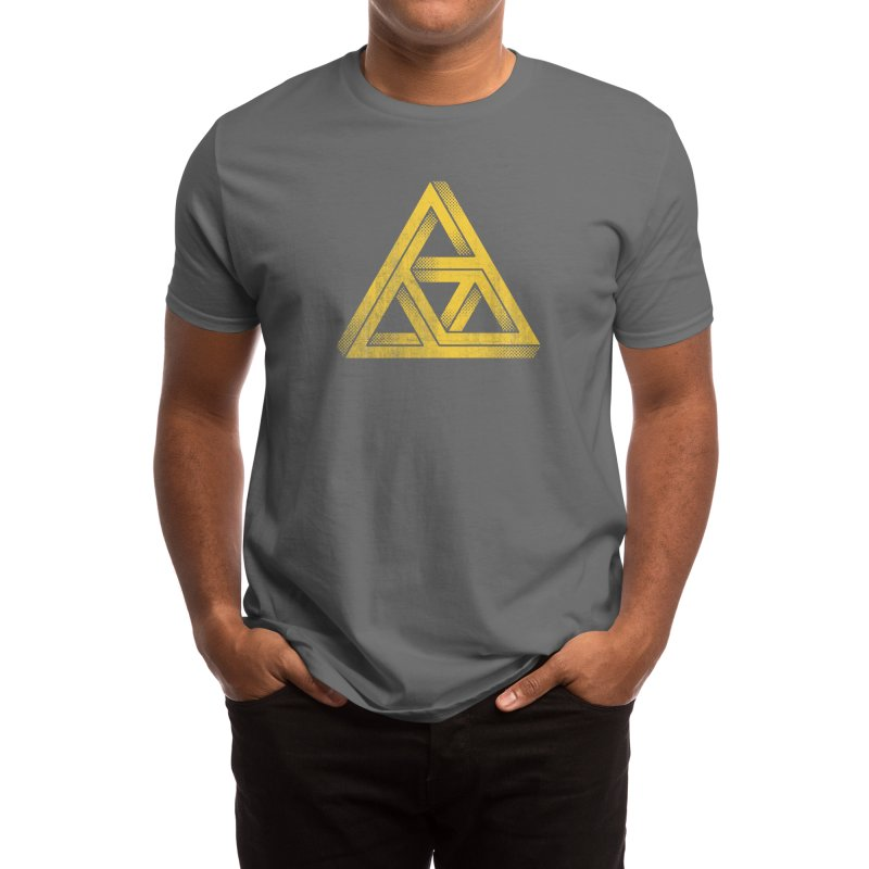 Penrose Triforce (Black Variant) Men's T-Shirt by Threadless Artist Shop