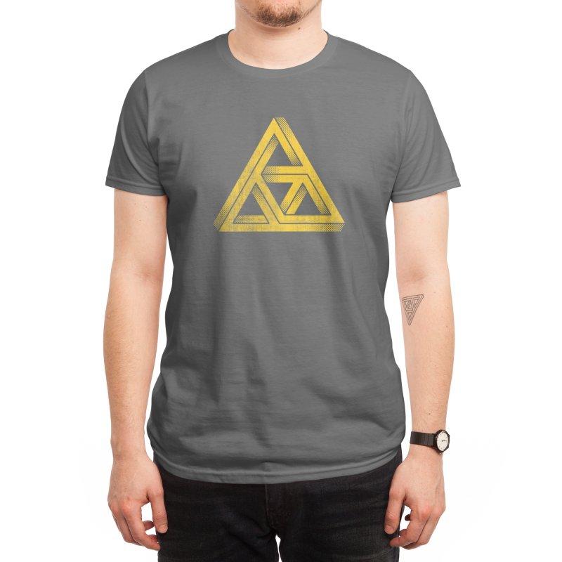Penrose Triforce (Black Variant) Men's T-Shirt by Threadless Artist Shop