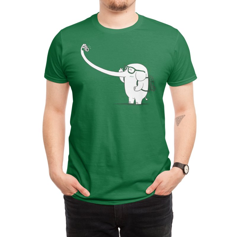 Lonely Traveller Men's T-Shirt by Threadless Artist Shop