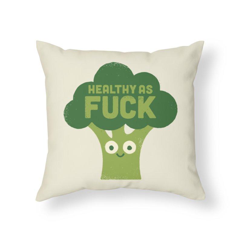 Raw Truth Home Throw Pillow by Threadless Artist Shop