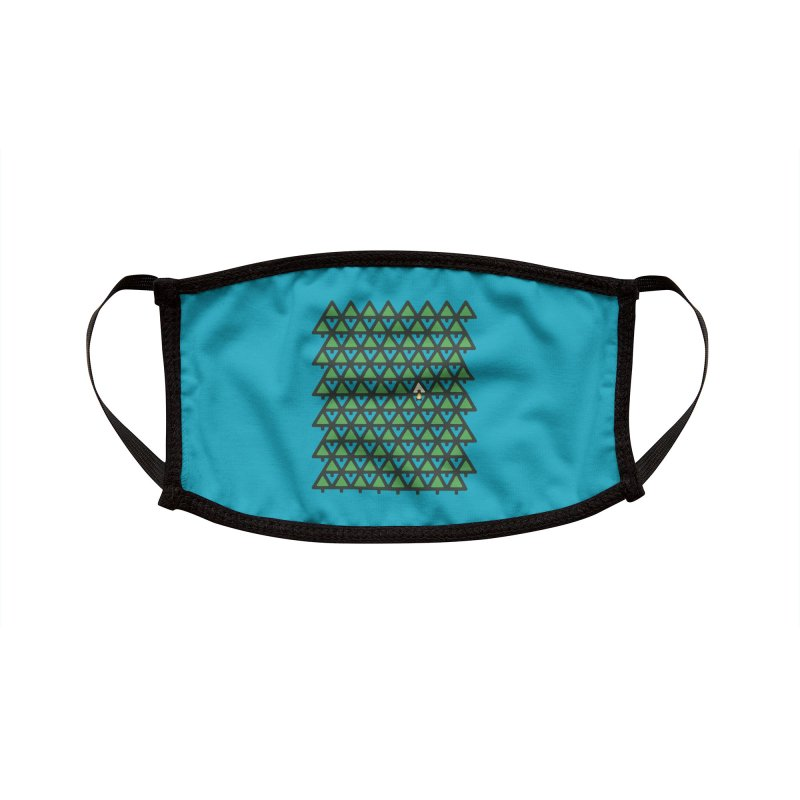 Perfect Pitch Accessories Face Mask by Threadless Artist Shop