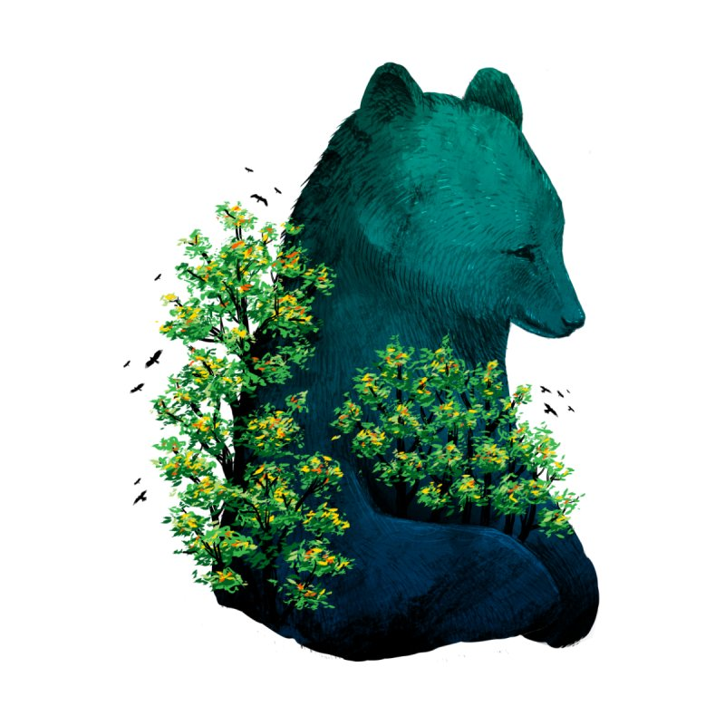 Nature's Embrace Men's T-Shirt by Threadless Artist Shop