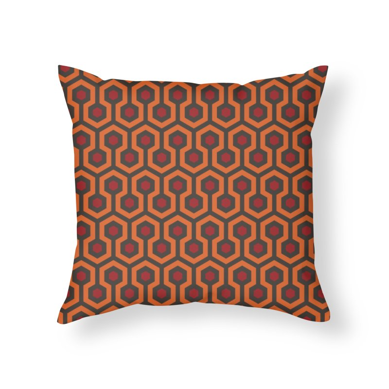 The Shining Overlook Hotel Home Throw Pillow by Threadless Artist Shop