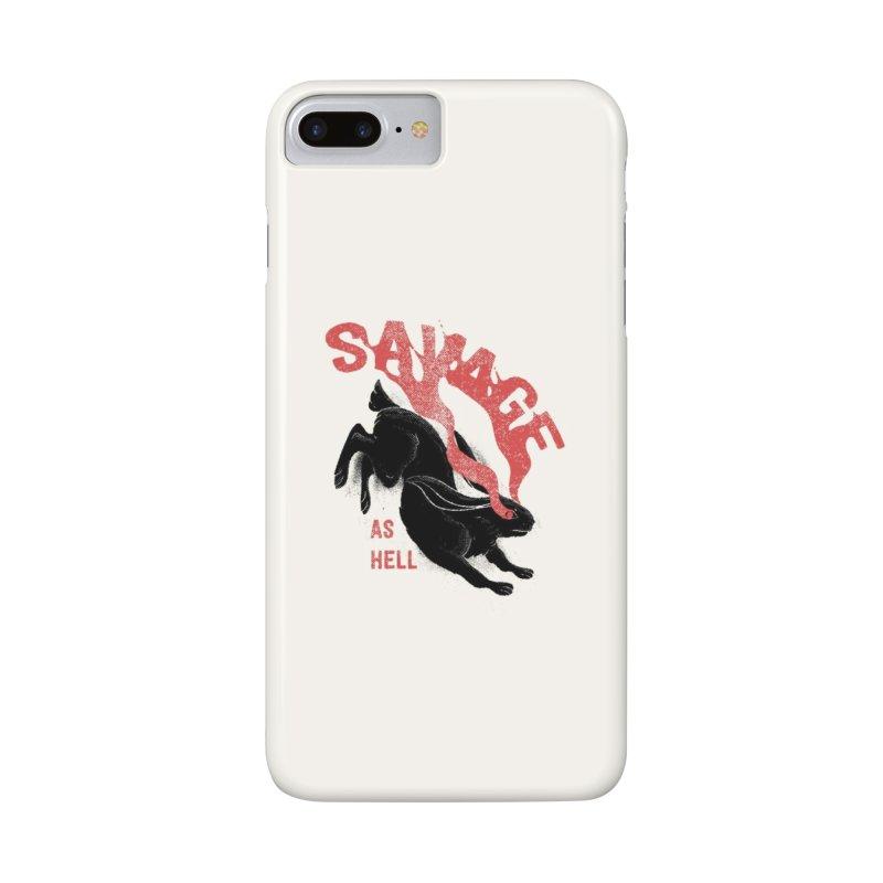 Savage as rabbit Accessories Phone Case by Threadless Artist Shop