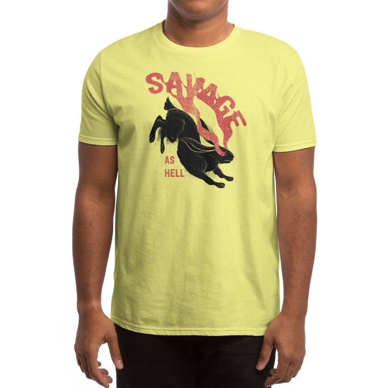 Savage as rabbit Men's T-Shirt by Threadless Artist Shop