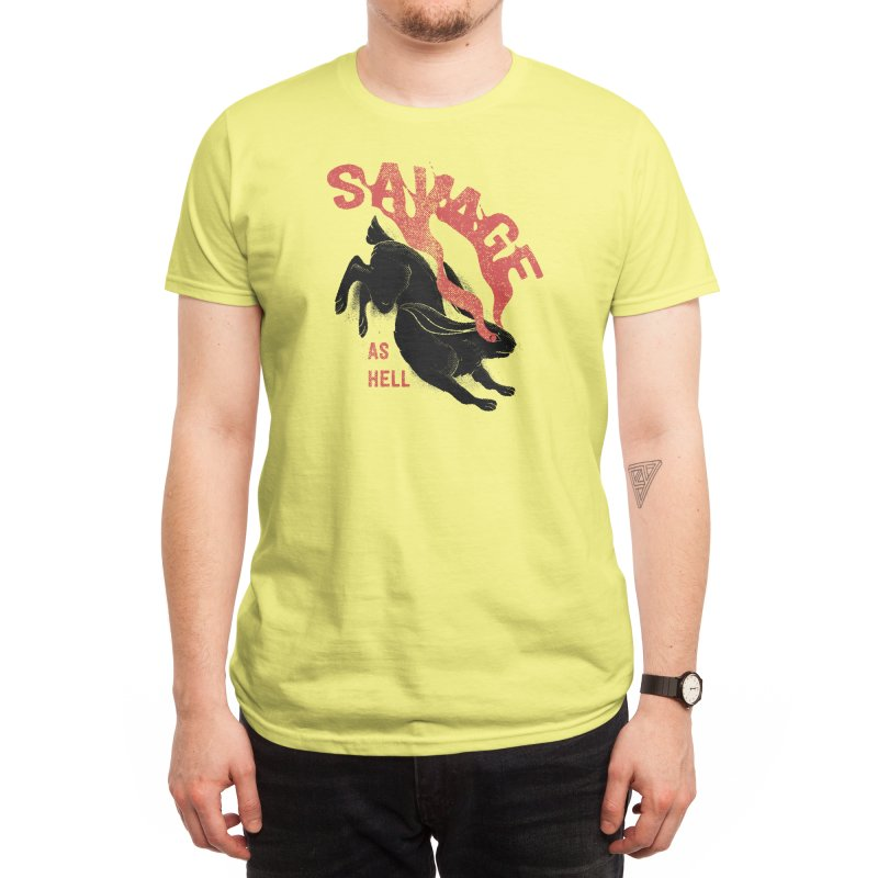 Savage as rabbit Men's T-Shirt by Threadless Artist Shop