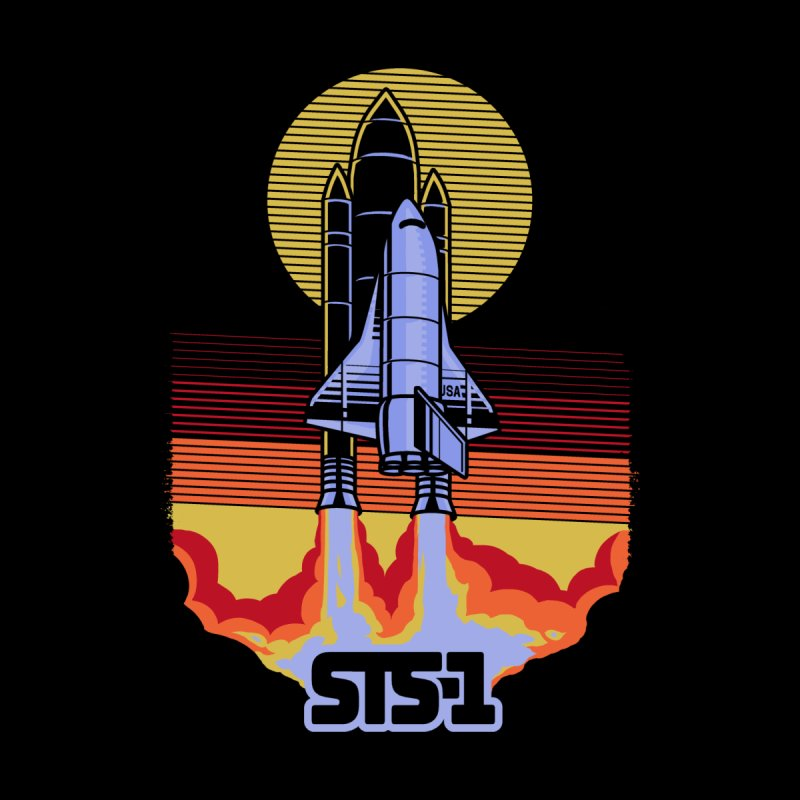 STS-1 (Black Variant) Men's T-Shirt by Threadless Artist Shop