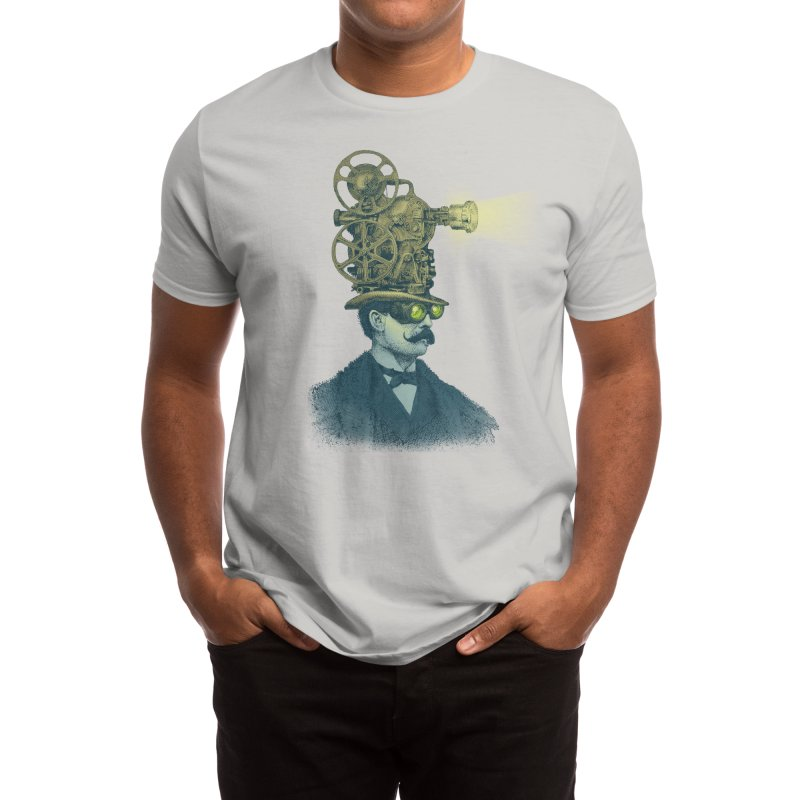The Projectionist Men's T-Shirt by Threadless Artist Shop