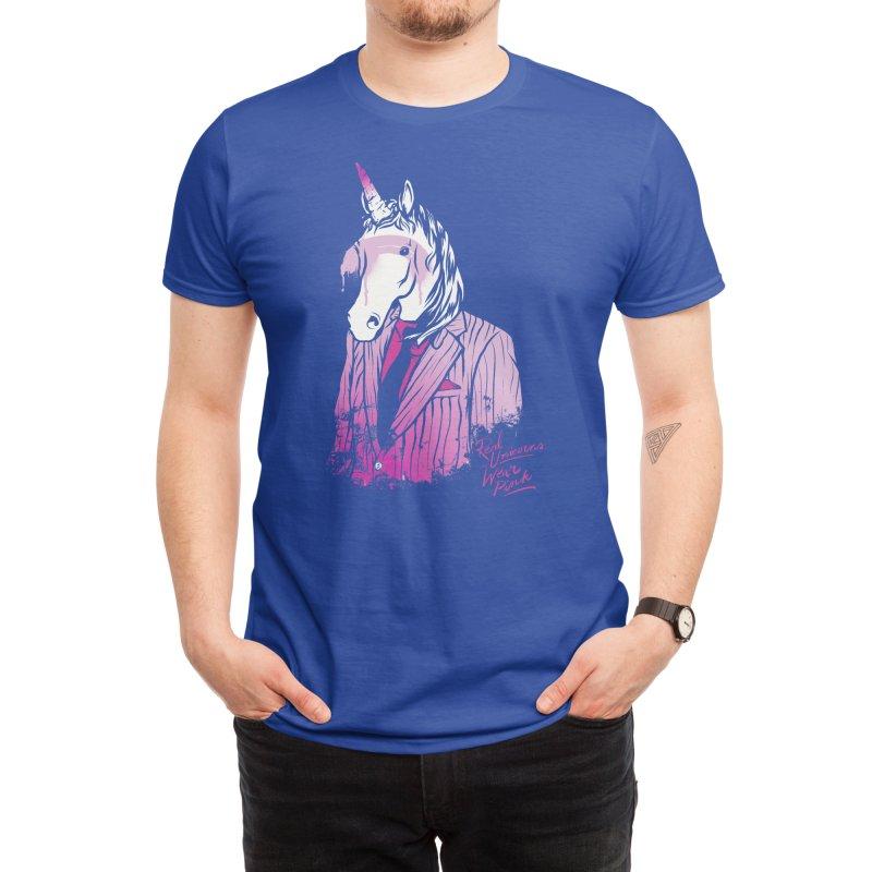 Real Unicorns Wear Pink Men's T-Shirt by Threadless Artist Shop