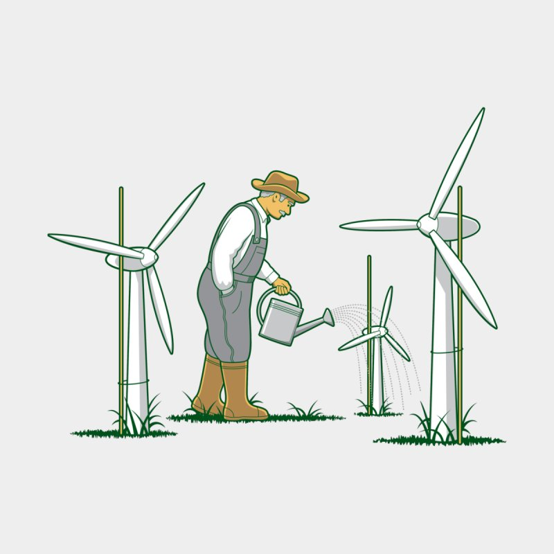Wind Farmer Men's T-Shirt by Threadless Artist Shop