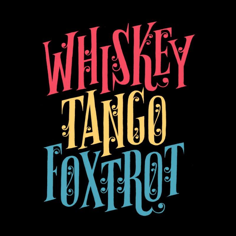 Whiskey Tango Foxtrot Men's V-Neck by Threadless Artist Shop