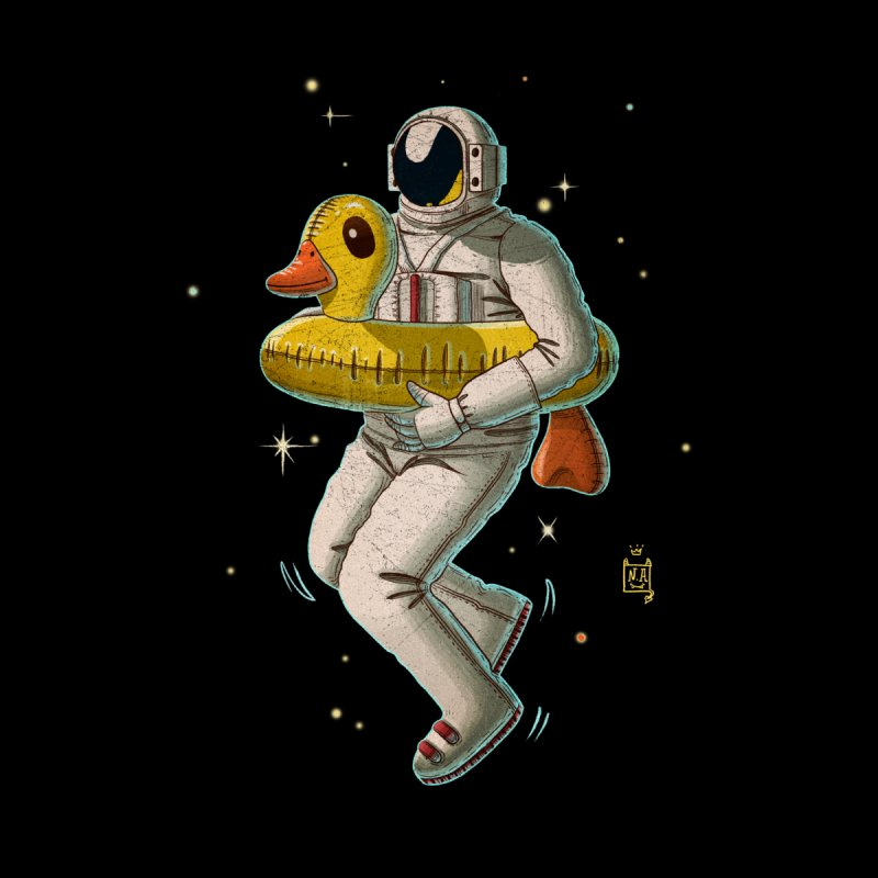 Space swimming Men's T-Shirt by Threadless Artist Shop