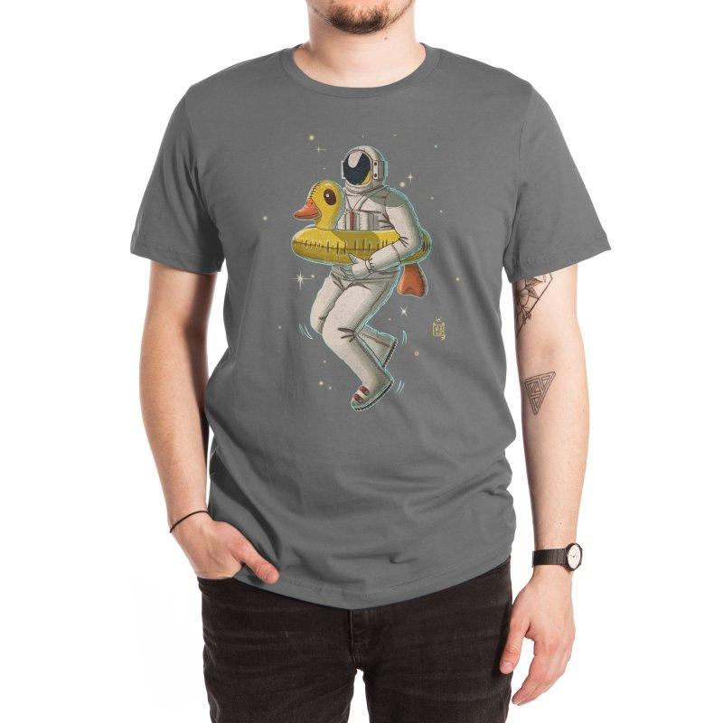 Space swimming Men's T-Shirt by Threadless Artist Shop