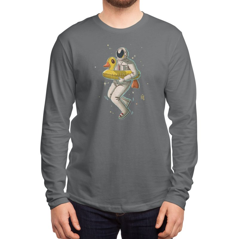 Space swimming Men's Longsleeve T-Shirt by Threadless Artist Shop
