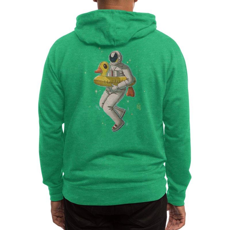 Space swimming Men's Zip-Up Hoody by Threadless Artist Shop