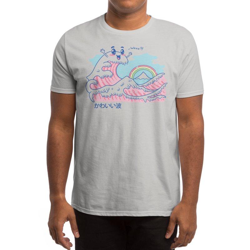 The Great Kawaii Wave Men's T-Shirt by Threadless Artist Shop