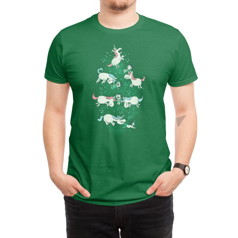 Angry Unicorns Men's T-Shirt by Threadless Artist Shop