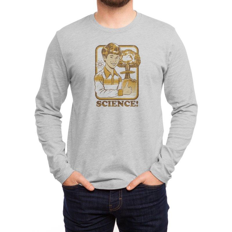 Science! Men's Longsleeve T-Shirt by Threadless Artist Shop