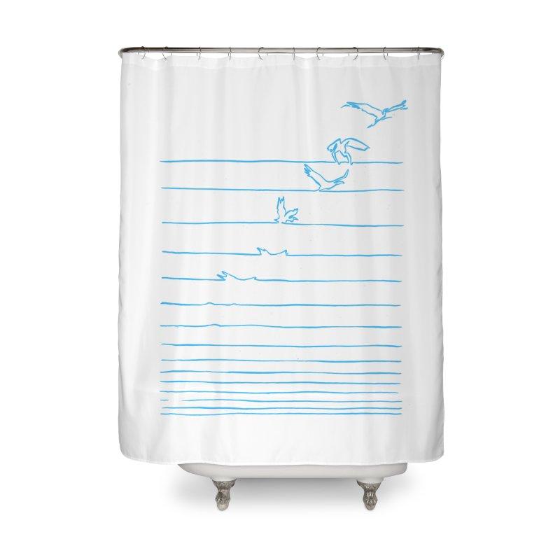 Break Free - Matheus Lopes Castro Home Shower Curtain by Threadless Artist Shop