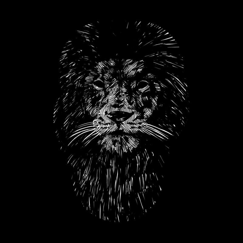 Black Lion Women's T-Shirt by Threadless Artist Shop