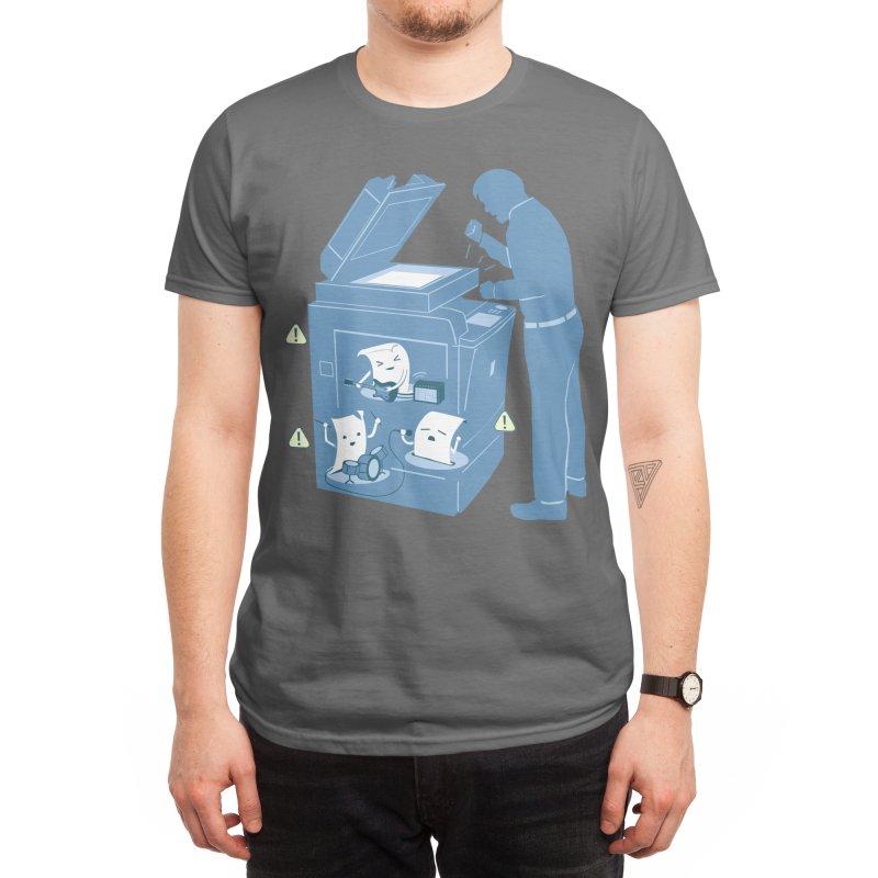 Paper Jam Men's T-Shirt by Threadless Artist Shop