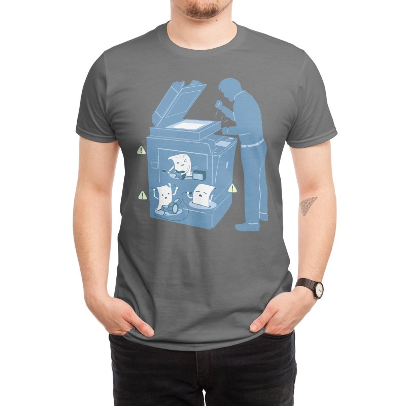 Paper Jam Men's T-Shirt by Threadless Artist Shop