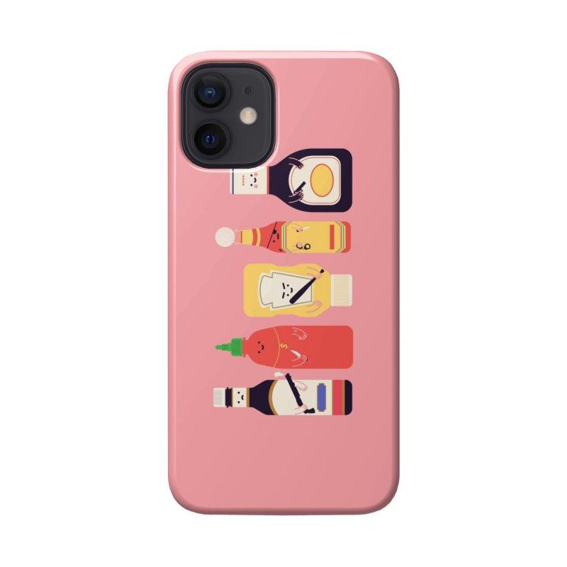 Ex-Condiments Accessories Phone Case by Threadless Artist Shop