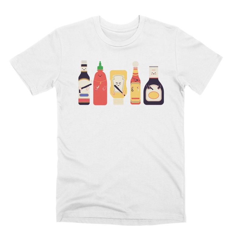 Ex-Condiments Men's T-Shirt by Threadless Artist Shop