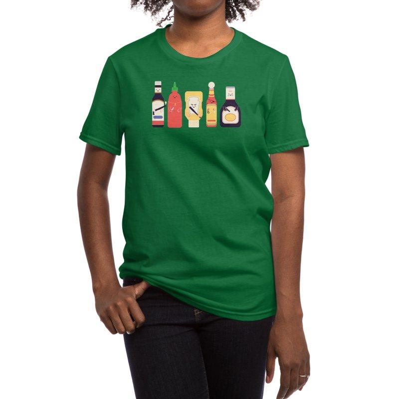Ex-Condiments Women's T-Shirt by Threadless Artist Shop
