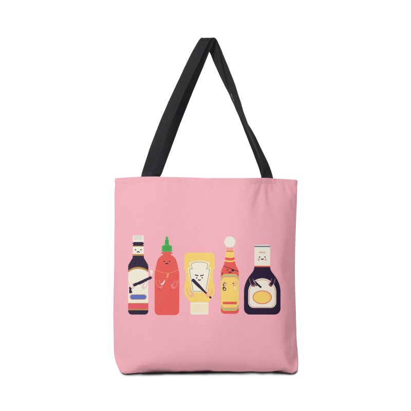 Ex-Condiments Accessories Bag by Threadless Artist Shop