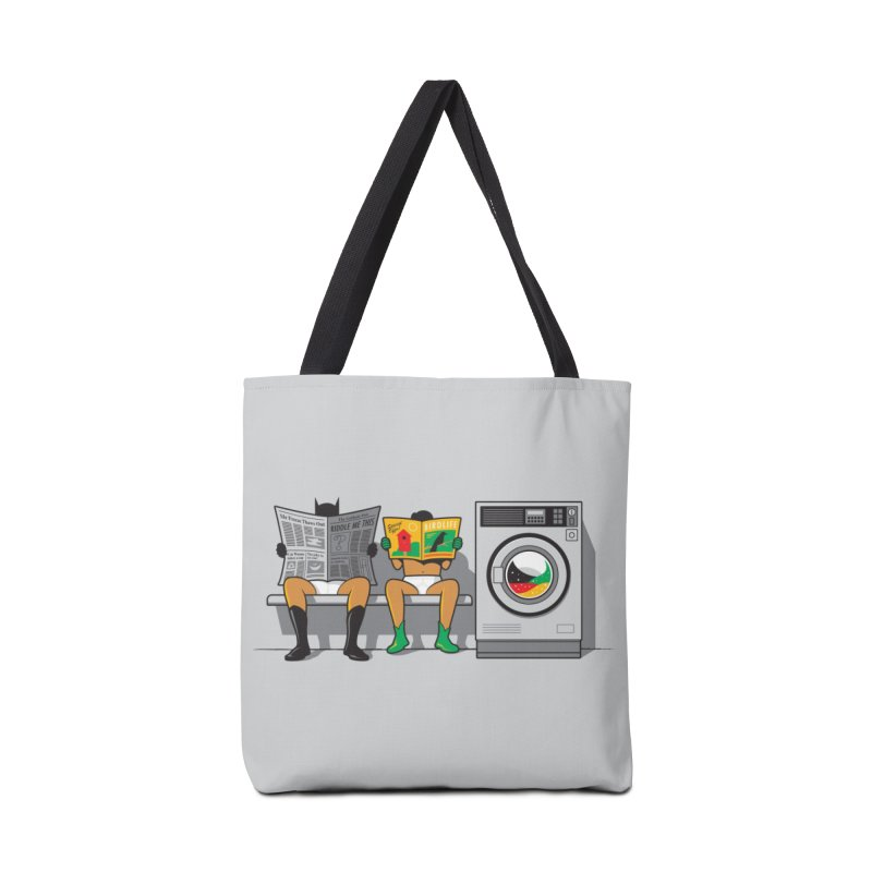 Alfred's Day Off Accessories Bag by Threadless Artist Shop