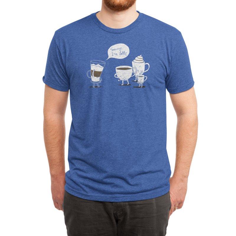 Coffee That's Always Late Men's T-Shirt by Threadless Artist Shop