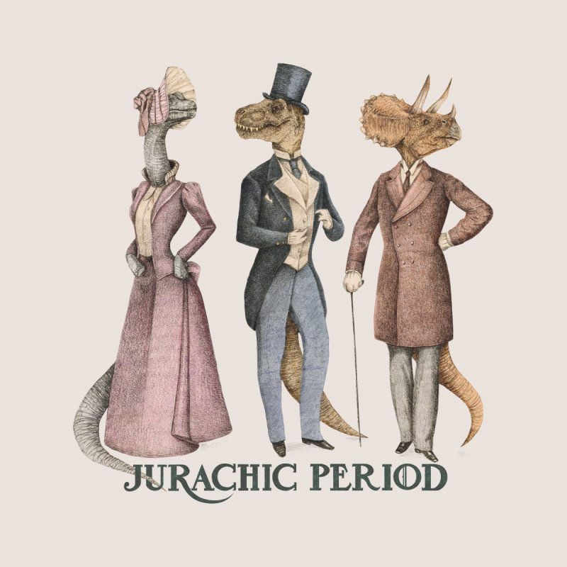 Jurachic Period Women's T-Shirt by Threadless Artist Shop