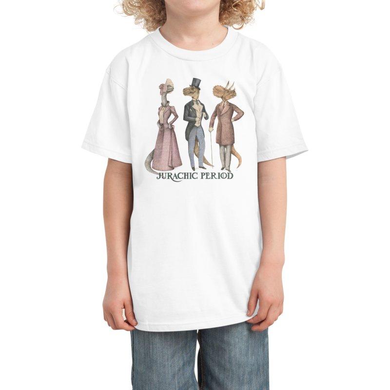 Jurachic Period Kids T-Shirt by Threadless Artist Shop