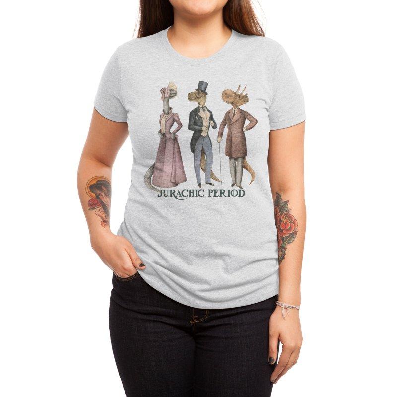 Jurachic Period Women's T-Shirt by Threadless Artist Shop