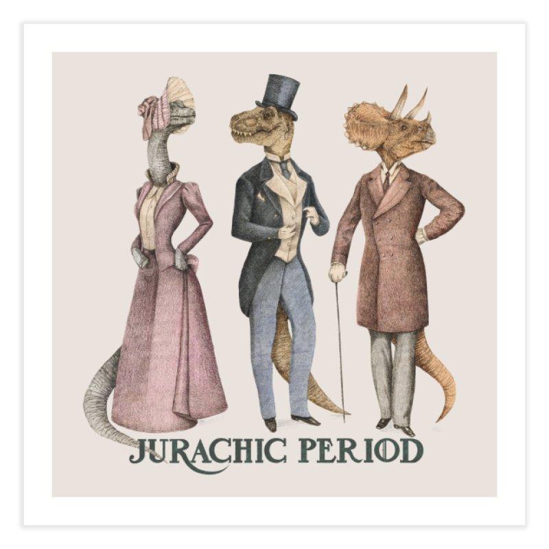 Jurachic Period Home Fine Art Print by Threadless Artist Shop