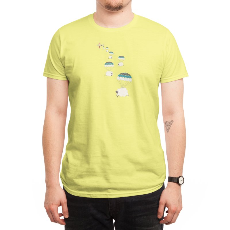 Sheepy Clouds Men's T-Shirt by Threadless Artist Shop