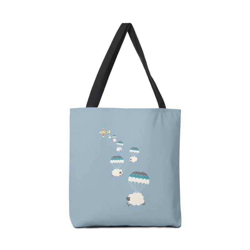 Sheepy Clouds Accessories Bag by Threadless Artist Shop